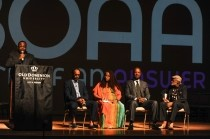 BOAA Panel at the Attucks Theater
