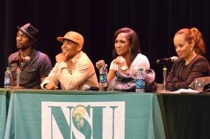 Leon Robinson, Allen Payne, Terri J. Vaughn and Essence Atkins