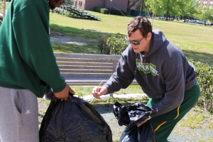 NSU Campus Cleanup Project 1