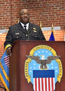 Chief Covington speaks at conference