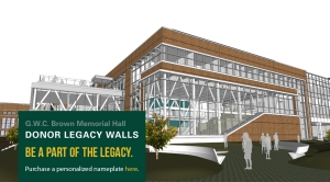 brown hall legacy wall Web banner