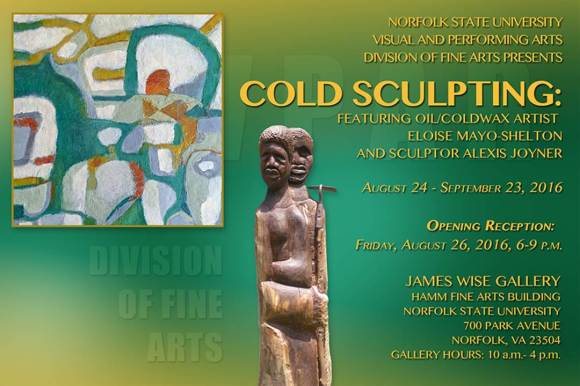 Making Waves August 16 Cold Sculpting