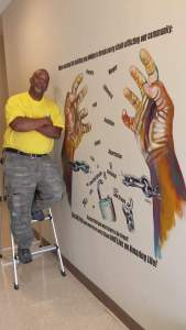 making waves August 16 Willie Cordy and artwork