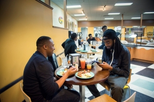 Norfolk State University various cafeterias on Thursday, April 8, 2015.
