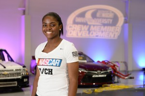 during the D4D Pit Crew Combine at NASCAR Research and Development Center on May 27, 2016 in Concord, North Carolina.