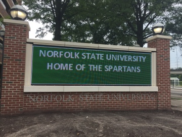NSU marquee - new 2