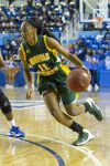 Hampton - Norfolk State Women's Basketball Game at the Hampton Convocation Center in Hampton, Virginia.  Hampton won 72-63.   January 30, 2016.  (Photo by Mark W. Sutton)