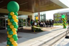 New G.W.C. Brown Hall Opens